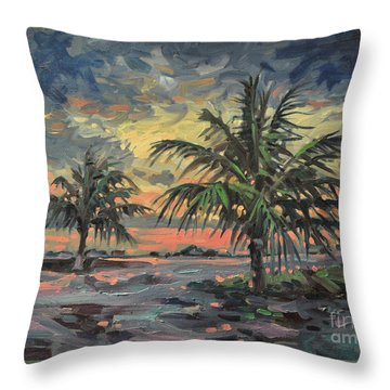 Passing Storm Throw Pillow by Donald Maier