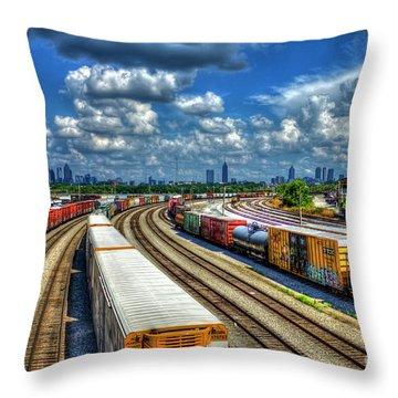Norfolk Southern Railway Throw Pillows