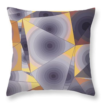 Passionflowers Throw Pillow