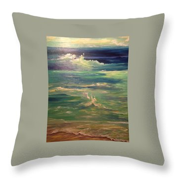 Passion Throw Pillow by Heather Roddy