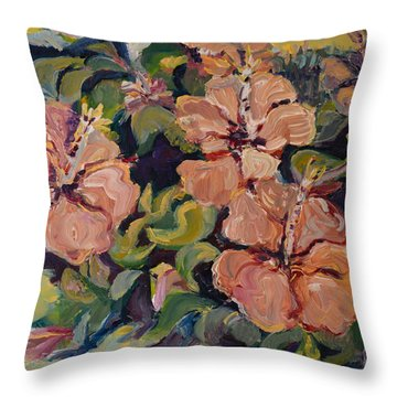 Passion In Dubrovnik Throw Pillow by Julie Todd-Cundiff