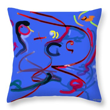 Passion Throw Pillow by Robert Henne