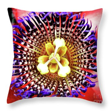 Passion Zoom Throw Pillow