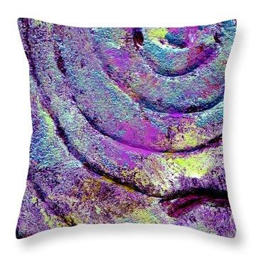 Passionate Swirl Throw Pillow