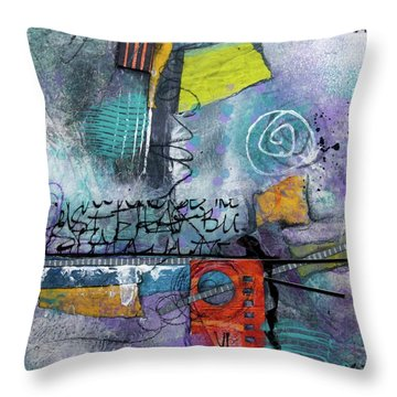 Passionate Time  Throw Pillow