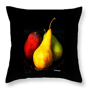 Throw Pillow featuring the photograph Passions 1 Signed by Elf Evans
