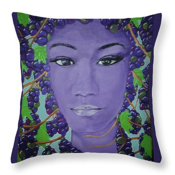 Passions Paradise Throw Pillow