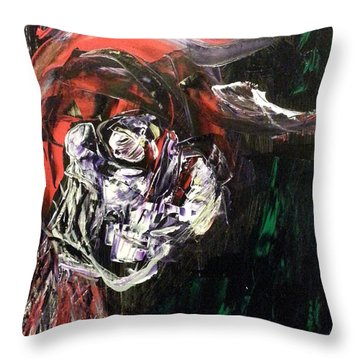 Past Demons Throw Pillow