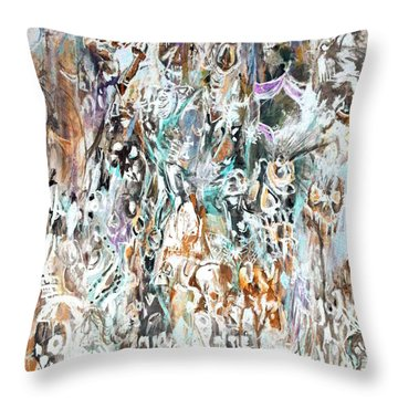 Past Life Trauma Inverted Throw Pillow