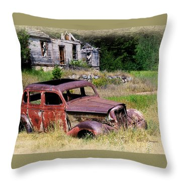 Past Their Prime Throw Pillow