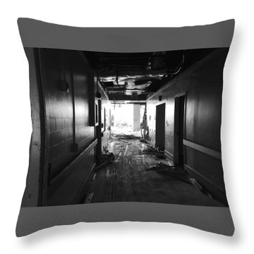 Past To Present Throw Pillow