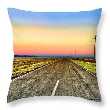 Pastel Morning Throw Pillow