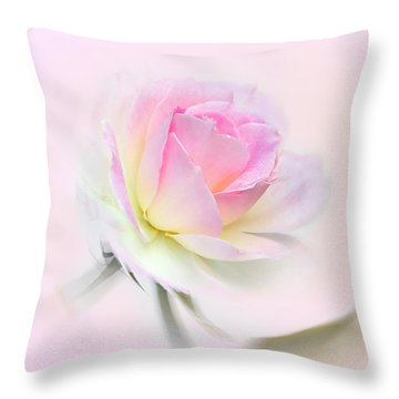 Pastel Passion Throw Pillow by Kaye Menner