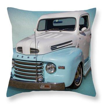 Pastel Pickup Throw Pillow
