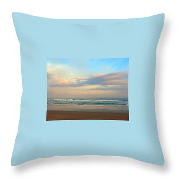 Pastel Sunrise Throw Pillow by Betty Buller Whitehead