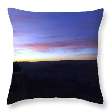 Pastels At Dark Throw Pillow