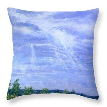 Pasture Lane Throw Pillow
