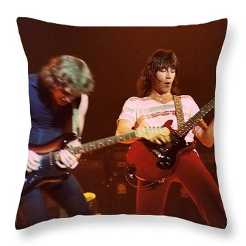 Pat Travers 5 Throw Pillow