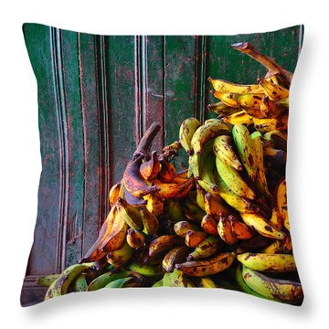 Patacon Throw Pillow