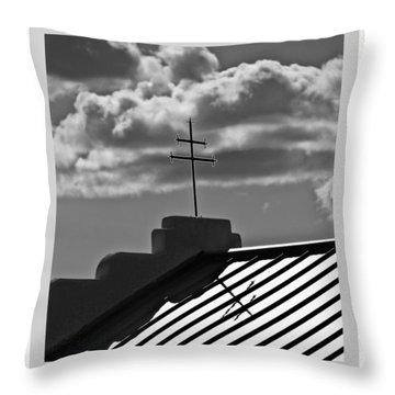Patagonia Cross Throw Pillow by R Thomas Berner