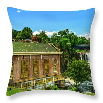 Paterson Great Falls National Historical Park  Throw Pillow