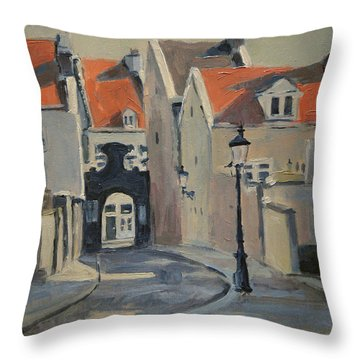 Paterspoortje Maastricht Throw Pillow