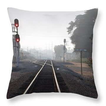Path To Anywhere Throw Pillow