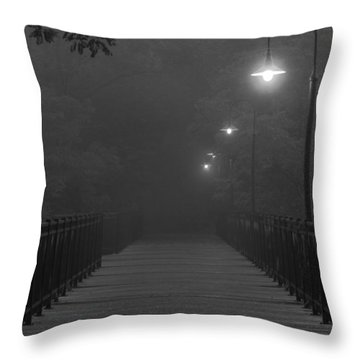 Path To Darkness Throw Pillow