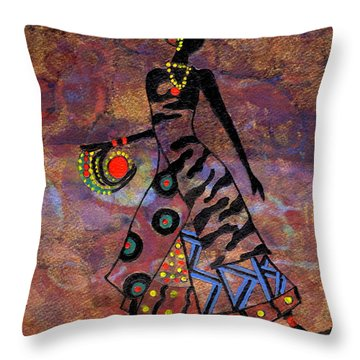 Path To Healing        Throw Pillow