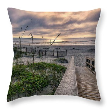 Path To Serenity Throw Pillow