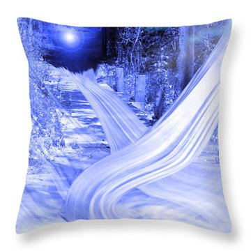 Path To The Good Old Days Throw Pillow