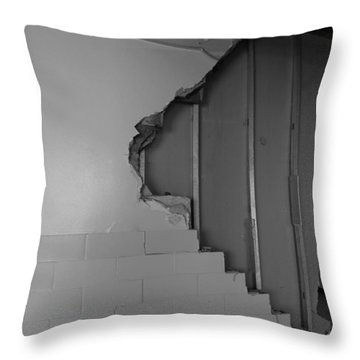 Path To The Past Throw Pillow