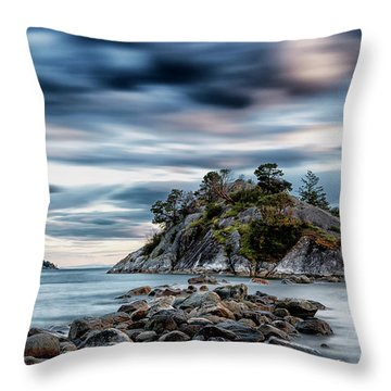 Path To Whyte Island Throw Pillow
