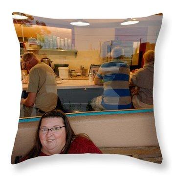Pathawks Throw Pillow