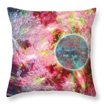 Pathogen Throw Pillow