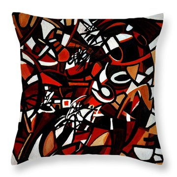 Pathological Space Throw Pillow
