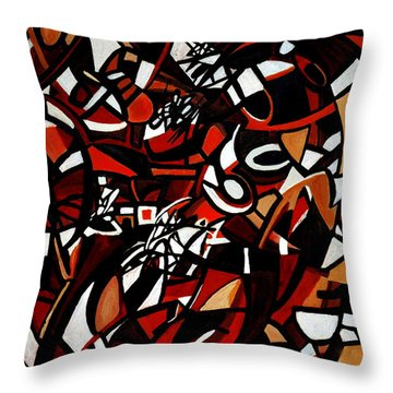 Pathological Space Throw Pillow