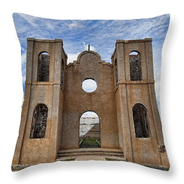 Pathway To Forgotten Dreams Throw Pillow