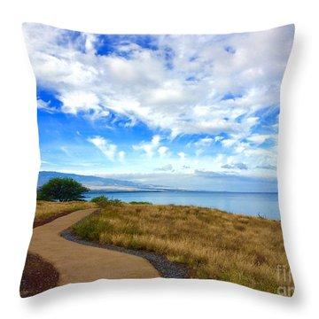 Pathway To Heaven Throw Pillow