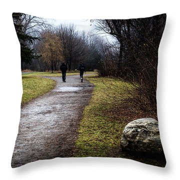 Pathway To Nowhere Throw Pillow by Celso Bressan