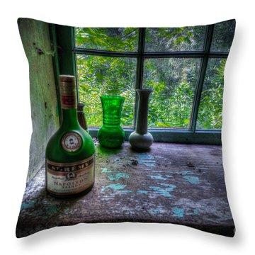 Patina In Green Throw Pillow