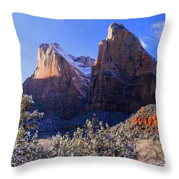 Patriarchs Throw Pillow