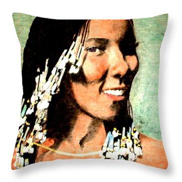 Patrice Babyfingers Rushen Throw Pillow