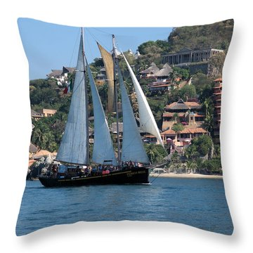 Patricia Belle 01 Throw Pillow by Jim Walls PhotoArtist
