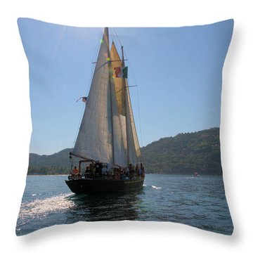Throw Pillow featuring the photograph Patricia Belle 03 by Jim Walls PhotoArtist