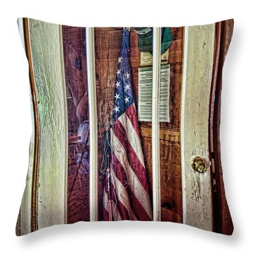 Patriot On Call Throw Pillow