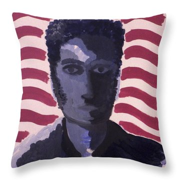 Patriotic 2002 Throw Pillow