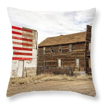 Patriotic Bordello Throw Pillow