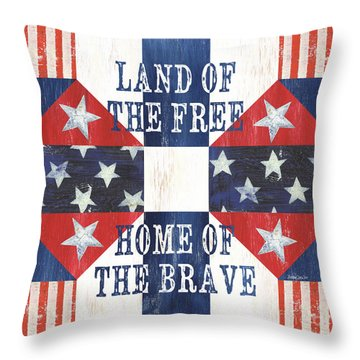 Old Glory Throw Pillows