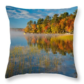 Patten Pond Throw Pillow
